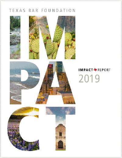 TXBF Impact Report 2019